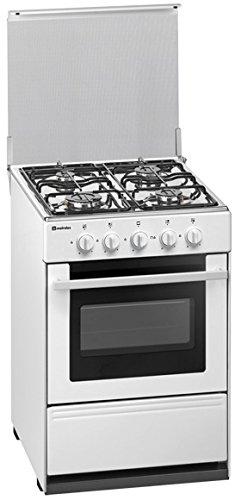 Meireles G 2540 V - Cocina (44 L, Gas natural, 44 L, Gas, Giratorio, Frente) Color blanco