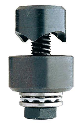 Ruko 109225K Punzonadora de tornillo con rodamientos a bolas (22,5 mm), Negro