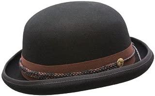 Conner Hats Men's Carson City Wool Bowler Hat