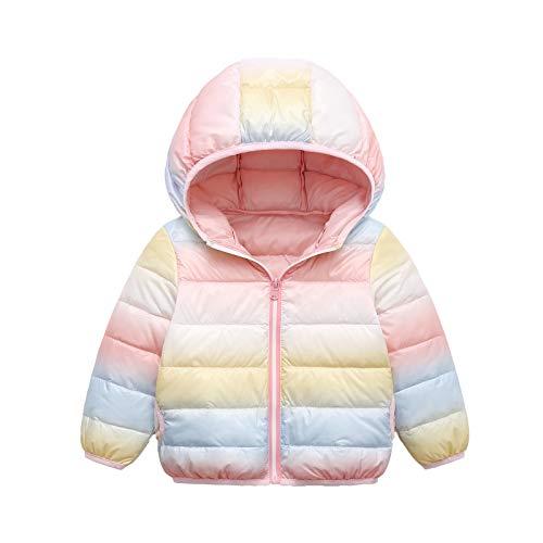 Fulltime (TM) - Chaqueta de manga larga para recién nacidos, con capucha, para bebés y niños, con capucha, resistente al viento, para nieve
