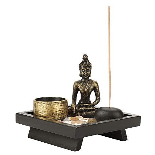 Robuster, langlebiger Weihrauchhalter, Stabiler Kerzenhalter, Design für Meditation Meditation Relax Decor Set