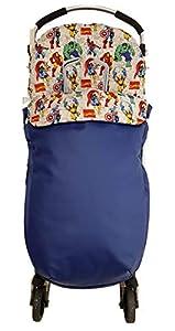 Saco silla de paseo universal. Varios modelos y colores disponinbles (Marvel Azul)