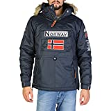Geographical Norway - Parka Homme Boomerang Marine-Taille - XXL