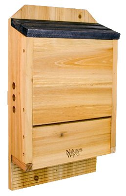 Natures Way Bird Products CWH6 Cedar Bat House - Quantity 2