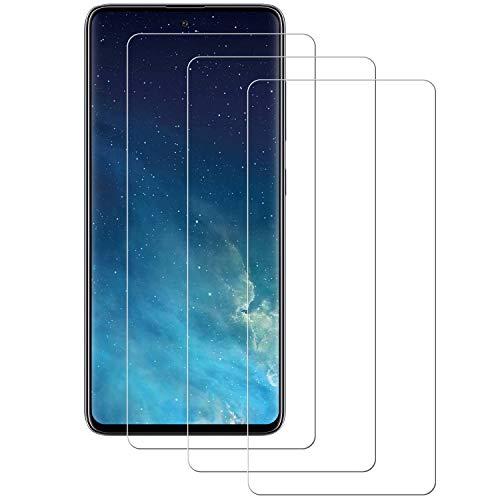 Aspiree Panzerglas Schutzfolie kompatibel mit Samsung Galaxy A71, [3 Stück] Gehärtetes Glas Bildschirmschutzfolie mit 9H Festigkeit, HD Ultra Klar, Anti-Kratzen, Anti-Öl, Bildschirmschutz Folie für A71