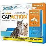 CapAction Oral Flea Treatment Cat 6ct