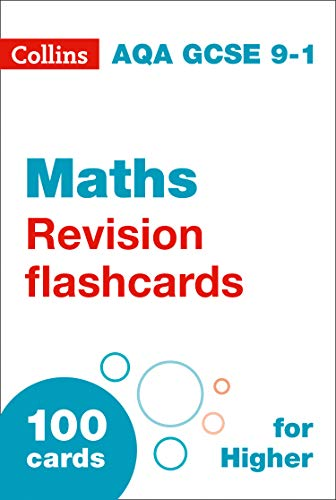NEW 9-1 GCSE Maths Higher AQA Revision Question Cards (Collins GCSE 9-1 Revision Flashcards) (English Edition)