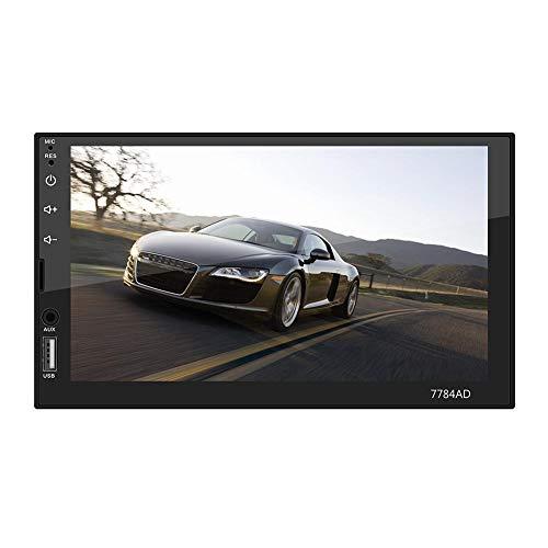 Android 7.1 pulgadas coche estéreo MP5 reproductor Navi con mapa+cámara pantalla táctil Bluetooth Mp5 doble husillo Mp4/GPS navegación todo en uno máquina