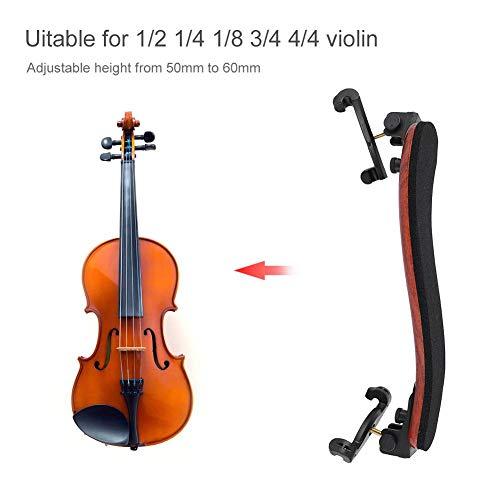 2 Stk Violine Kinn Rest Klemmschraube für 3//4 4//4 Violinen Zubehör