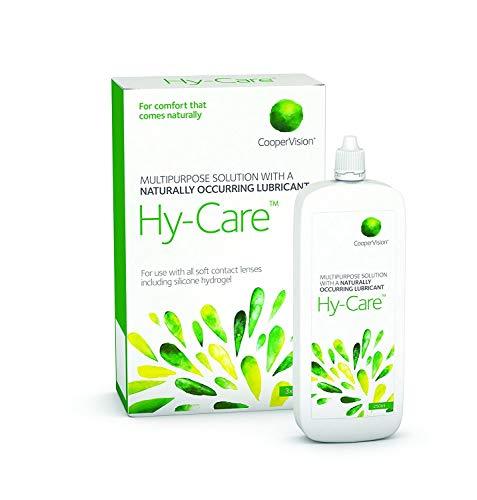 Hy-Care Solución multiusos para lentes de contacto (Reemplaza a Synergy) 810 ml