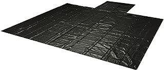 Mytee Products Flatbed Tarps Heavy Duty 18oz Lumber Tarp 20x27 (6' Drop) - Black