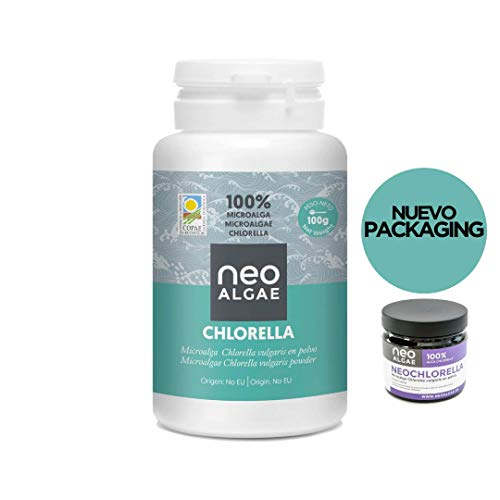Chlorella en Polvo Ecológica | Certificado ECO | Poder Antioxidante | 100% Natural | 100 gramos