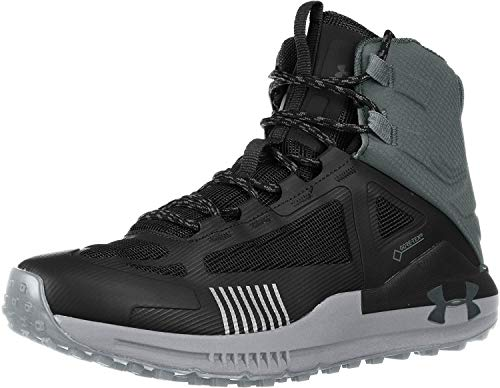 Under Armour Men's Verge 2.0 Mid Gore-TEX Hiking Boot, Black (003)/Pitch Gray, 9 M US