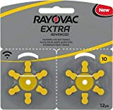 Batterie pour appareils auditifs Rayovac Extra Advanced Zink Air 120x Typ 10 gelb