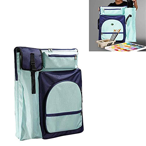 Ybzx Outdoor Painting Drawing Board Canvas Bag 4K Artist Portfolio Art Carrying Case Sketchpad Picture Backpack for Artwork Sketch Board Sketch Pad Storage Drawing Board