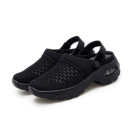 N/U Zapatos de mujer para el tiempo libre zapatillas deportivas zuecos fitness correr excursiones en el jardín zapatos de casa malla transpirab