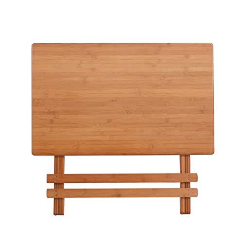 DX klaptafel wandgemonteerde tafel rijst bamboe draagbare massief hout tafel rechthoekige tafellift 70 lange vouwen tillen studie tafel