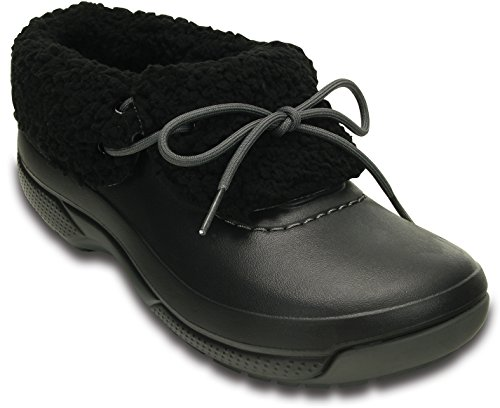 [Crocs] [クロックス] Blitzen Luxe Convertible Clog 201843-060 Black/Black (M5W7/23cm)
