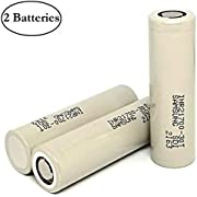 Samsung INR21700 30T 3000mAh 35A MAX 3.7V Li-ion Rechargeable High Drain Flat Top Battery (2-Pack)