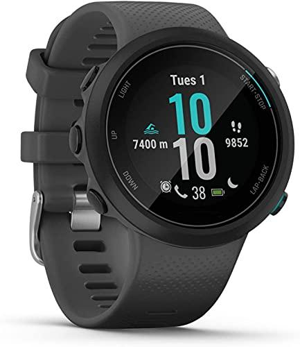 LQLD Reloj Inteligente de natación con GPS, rastreador de Ejercicios con presión Arterial, frecuencia cardíaca, oxígeno en Sangre, Monitor de sueño, notificación de Mensajes, podómetro Deportivo