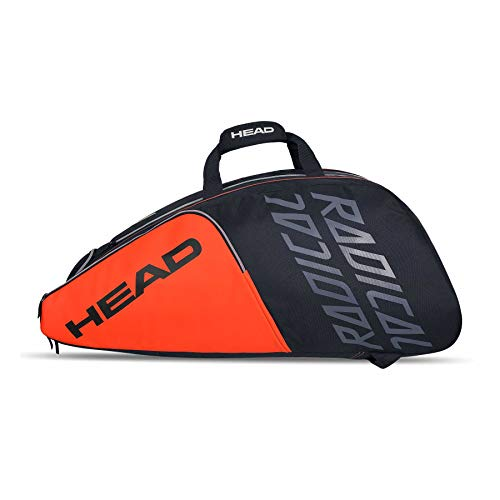 Head Radical 12R Monstercombi Grigio Scuro - Arancione