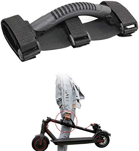 Eléctricos Scooter Correa de Hombro Cinturón de Transporte portátil Adecuado para niños Bicicletas Bicicleta Plegable Xiaomi Patinetes eléctricos,Piezas de patinetes eléctricos. (Correa de mano)