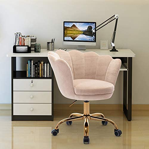 数量限定 SSLine Modern Cute Desk Chair Home Mid-Back 超人気 専門店 Office Chai Computer