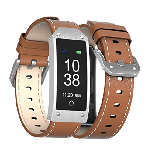 Learn More About DSWDA Smart Bracelet Color Screen Blood Pressure Heart Rate Monitoring Bluetooth GP...