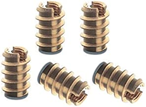 10 pcs New Threaded Brass Insert Nuts M2.5 for Wood