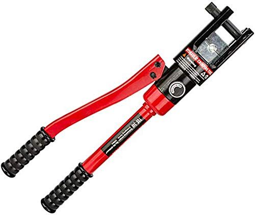 CGOLDENWALL Hydraulic Crimping Pliers Mechanical Crimper Hydraulic Crimping Tool for Copper Aluminum Plastic Pex PB (YQK-120: 8T, 10-120m㎡)