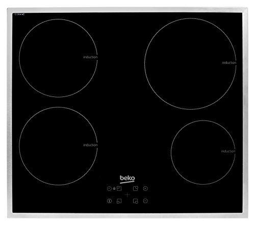 Beko HII 64400 ATX Elektro-Kochfeld / Induktion / Breite: 58.2 cm / Sensortasten / Booster