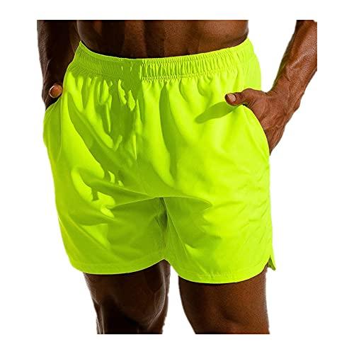 Nuevos Hombres Fitness Culturismo Shorts Hombre Verano Entrenamiento Masculino Transpirable Rápido