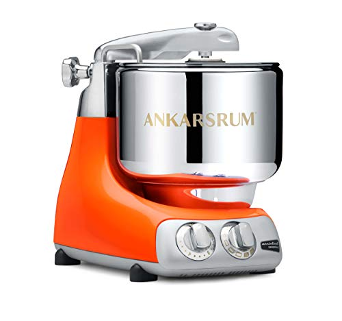 Ankarsrum 6230 OR Original 6230-Pure Assistent Original-AKM6230 Kitchen Machine-Pure Orange (PO), Aluminium, 7 liters, Arancione