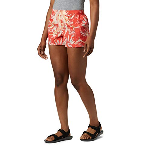 Columbia Damen Sandy River II Printed, Breathable, Sun Protection Legere Shorts, Heller Mohnblumen-Druck, 3X x 15 cm Entrepierna