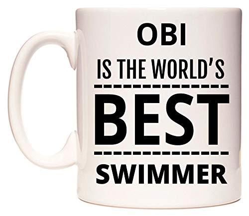 WeDoMugs Obi is The World\'s Best Swimmer Becher