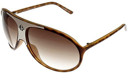John Richmond Sunglasses Unisex JR614 04 Aviator Havana