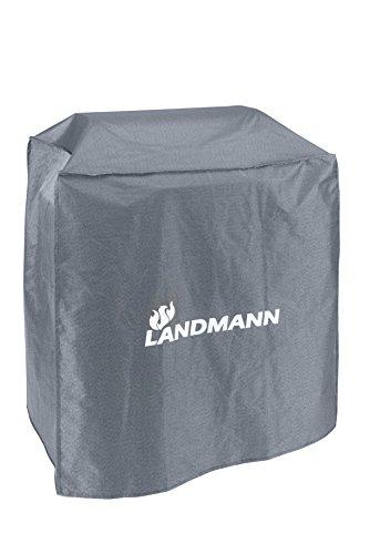 Landmann Premium Wetterschutzhaube | Aus robustem Polyestergewebe & Wasserdicht | UV-beständig, Atmungsaktiv & Kältebeständig | Geeignet für den GRILLCHEF Gasbräter Profi 4 BR (60 x 96 x 120 cm)