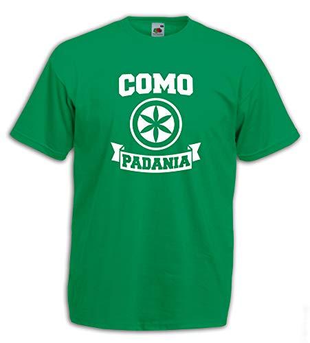 Settantallora - T-Shirt Maglietta J3080 Como Citta' della Padania Indipendente Taglia XL
