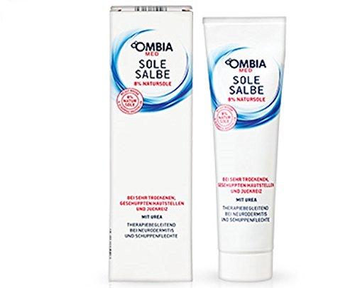 OMBIA MED Sole Salbe Mit 8 % Natursole und Urea 150 ml