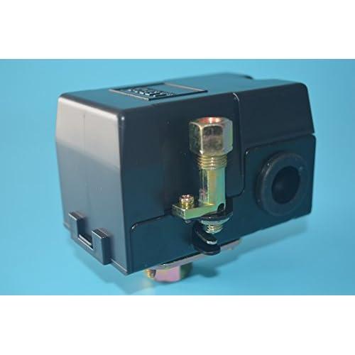 NEW 25 AMP PRESSURE CONTROL SWITCH VALVE FOR AIR COMPRESSOR 140-175 1PORT