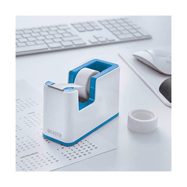 Leitz Wow accesorio de escritorio, azul metalizado, Komplett – Set
