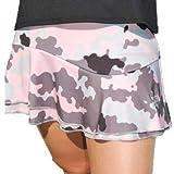 La Mouche Padel Falda Modelo básico Camuflaje Rosa (M)