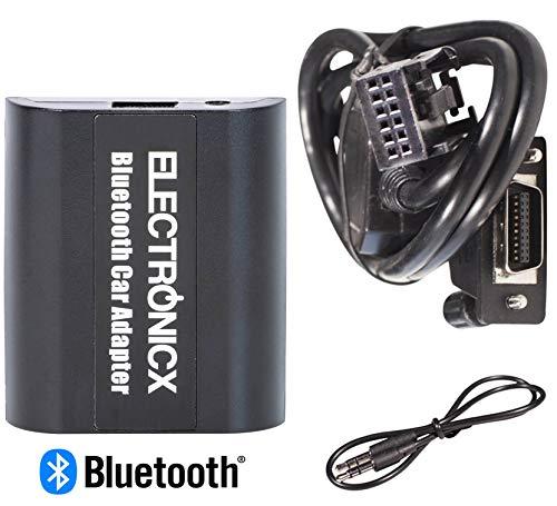 Electronicx Adaptador de Radio para Coche Auto Carro Manos Libres Bluetooth Controlador de Radio Desde el Volante AUX MP3 CD Peugeot Citroen 07 307 308 407 607