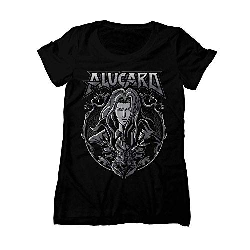 Symphony of the Night Shirt, Castlevania T-Shirt, Alucard, SOTN Tee, Heavy Metal, PS1, Video Game TShirt, Shirt, Playstation,Women t Castlevania Symphony Of The Night Playstation