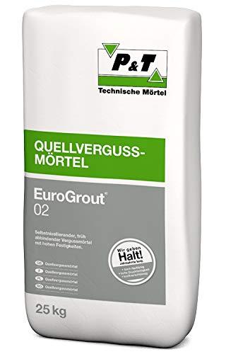 Quellvergussmörtel 0-2 mm EuroGrout® 02 25 kg/Sack