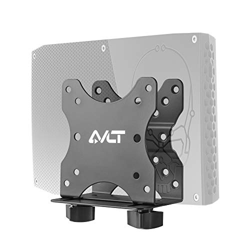 AVLT Thin Client VESA Mount for Intel NUC Mini PC Up to 2.76' Thick - Fits Monitor Back, Monitor Arm Stand, Pole Or Under Desk