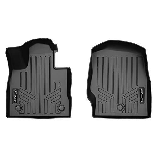 SMARTLINER Custom Fit Floor Mats 1st Row Liner Set Black for 2020-2021 Ford...