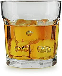 Circleware 10225 Heavy Base Whiskey Glass, Set of 4, Home & Kitchen Party Dining Entertainment Beverage Drinking Glassware Cups for Water, Juice, Beer Bar Liquor Decor, 10.4 oz (B07JHTMMMJ) | Amazon price tracker / tracking, Amazon price history charts, Amazon price watches, Amazon price drop alerts
