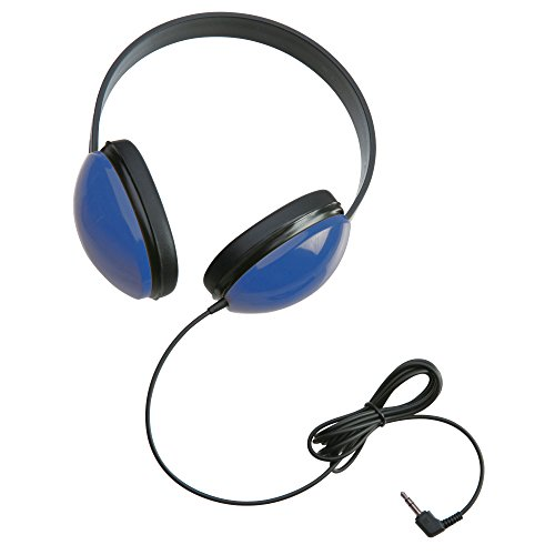 Califone 2800-BL Listening First Stereo Headphones, Blue