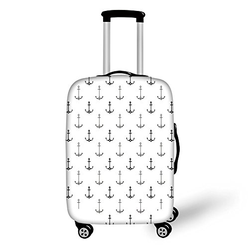 Travel Luggage Cover Suitcase Protector,Strong Green Leaves Ecology Flourish Nat